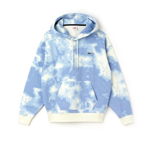 Blue Lacoste Men/'s Light Pullover Hoodie